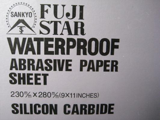 Giấy nhám chịu nước P120 Fujistar