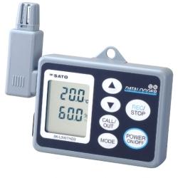 Hiệu chuẩn nhiệt ẩm kế tự ghi SK-L200THIIα Calibration SATO