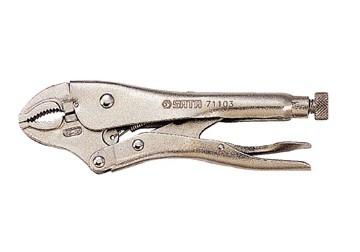 Kìm bấm chết mũi cong 10 inch 71-103 SATA