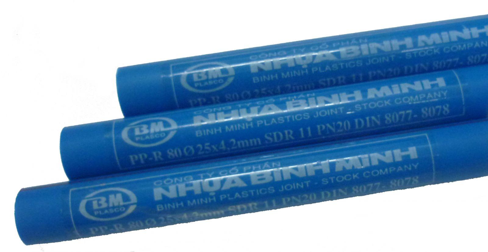 Ống nhựa chịu nhiệt PPR 20 x 3.4mm TGCN-32053 NHUABINHMINH