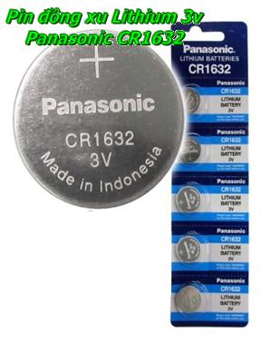 Pin cúc áo lithium 3V CR1632 Panasonic