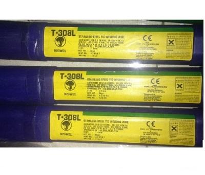 Que hàn tig inox 2.4mm T-308L 2.4mm Kiswel