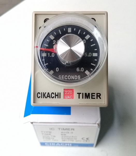 Relay thời gian 30S_250VAC AH3-3 30S CIKACHI