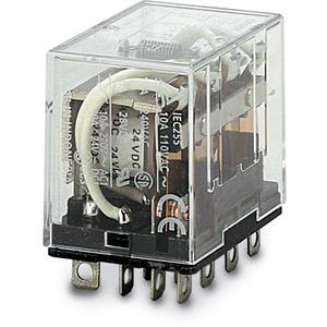Relay kiếng 14C dẹp lớn 24VDC  LY4 24DC Omron