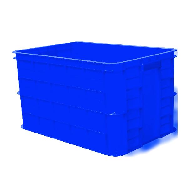 Thùng nhựa có nắp sóng nhựa bít 3T9 TGCN-31811 HIEPTHANHPLASTIC