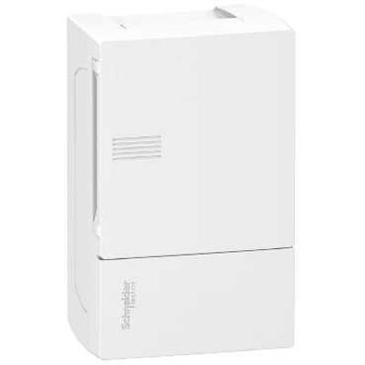 Tủ điện nhựa âm tường 12 module cửa trắng MIP22112 schneider-electric