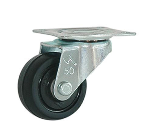 Bánh xe đế đen không khóa 50 x 21mm TGCN-32750 SieuThanhPlastic