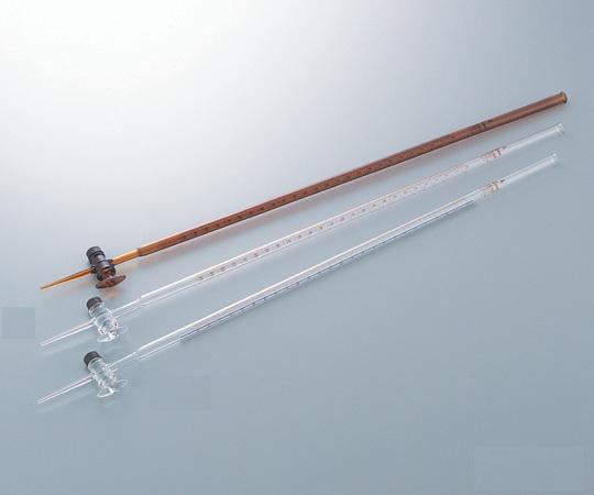 Buret nâu khóa thủy tinh 50ml  1-8577-07 ASONE