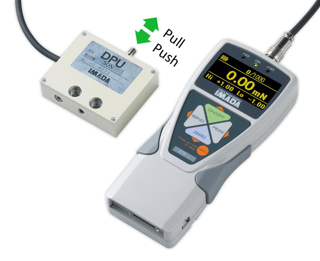 Thiết bị đo lực điện tử cảm biến ngoài ZTS-DPU-5000N Imada