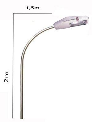 Cần đèn gắn tường 2m vươn xa 1,5m TGCN-32998 VietnamElectricity