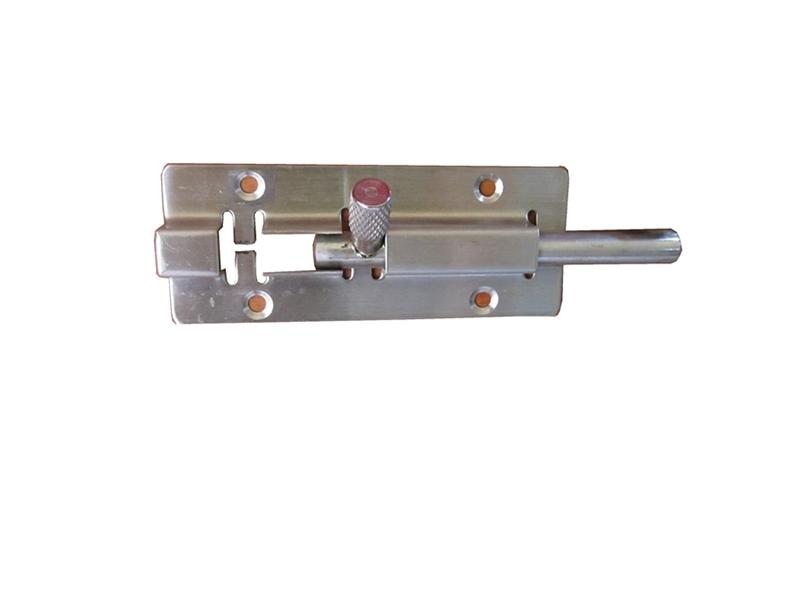 Chốt cửa dẹp trắng inox 8cm TGCN-32894 VietnamSteels