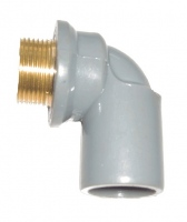 Co nhựa PVC ren ngoài thau 21 x 27mm TGCN-32948 DatHoaPlastic