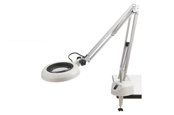 Kính lúp kẹp bàn dùng đèn Led, có độ phóng đại 4 lần SKKL-F 4X OTSUKA