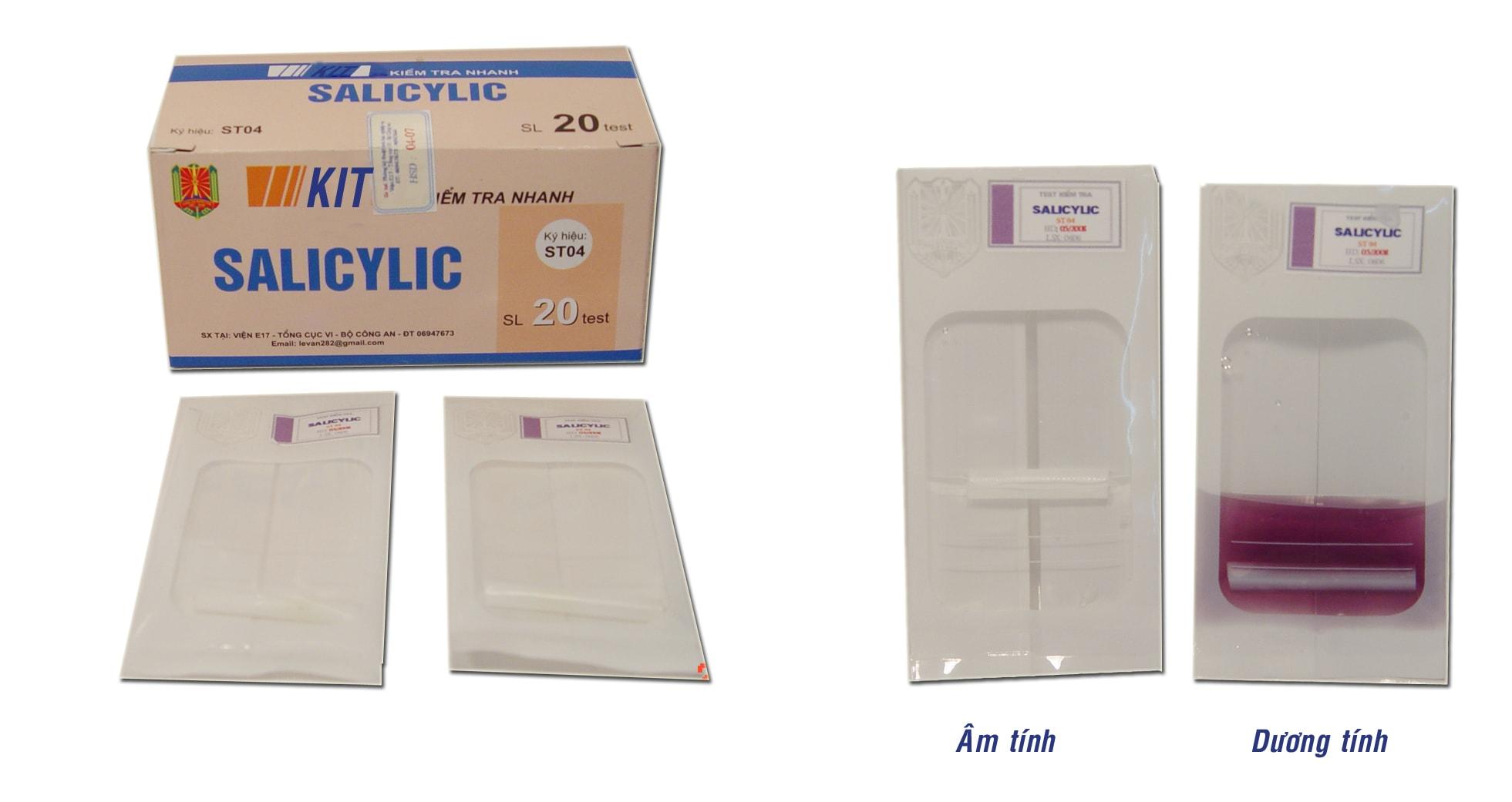 KIT kiểm tra nhanh salicylic ST04 VietnamMaterials