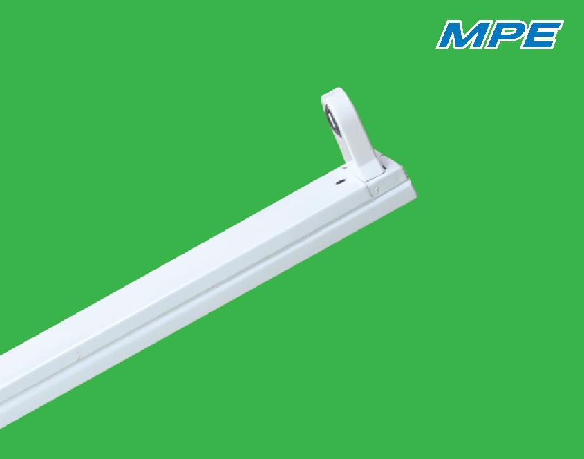 Máng đèn batten LED tube siêu mỏng 1.2m đơn  EMDK-120 MPE