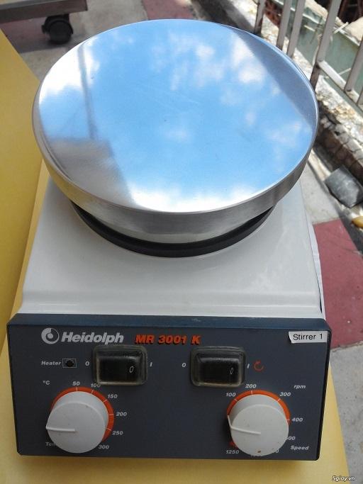 Máy khuấy từ gia nhiệt Mr 3001 K Germany
