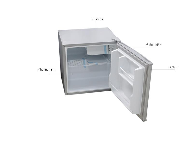 Tủ lạnh Mini  HS-65L MIDEA