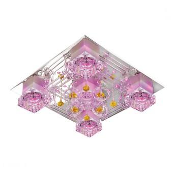 Đèn mâm ốp trần led vuông NC 8370 NamLong