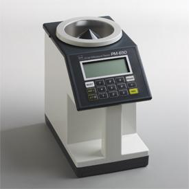 Hiệu chuẩn máy đo độ ẩm hạt PM-650 Calibration Kett