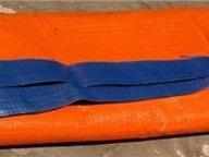 Bạt xanh cam PE/PVC Vietnam