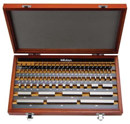 Bộ căn mẫu bằng thép 47 miếng cấp 2 516-960-10 MITUTOYO