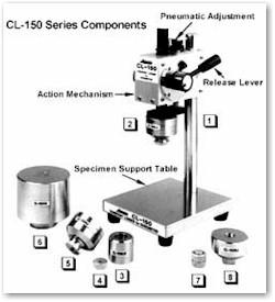 quả cân chuẩn cho đồng hồ đo độ cứng cao su  CL-150-FJ Asker