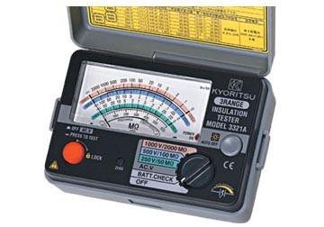 Đồng hồ đo điện trở cách điện 3321A KYORITSU