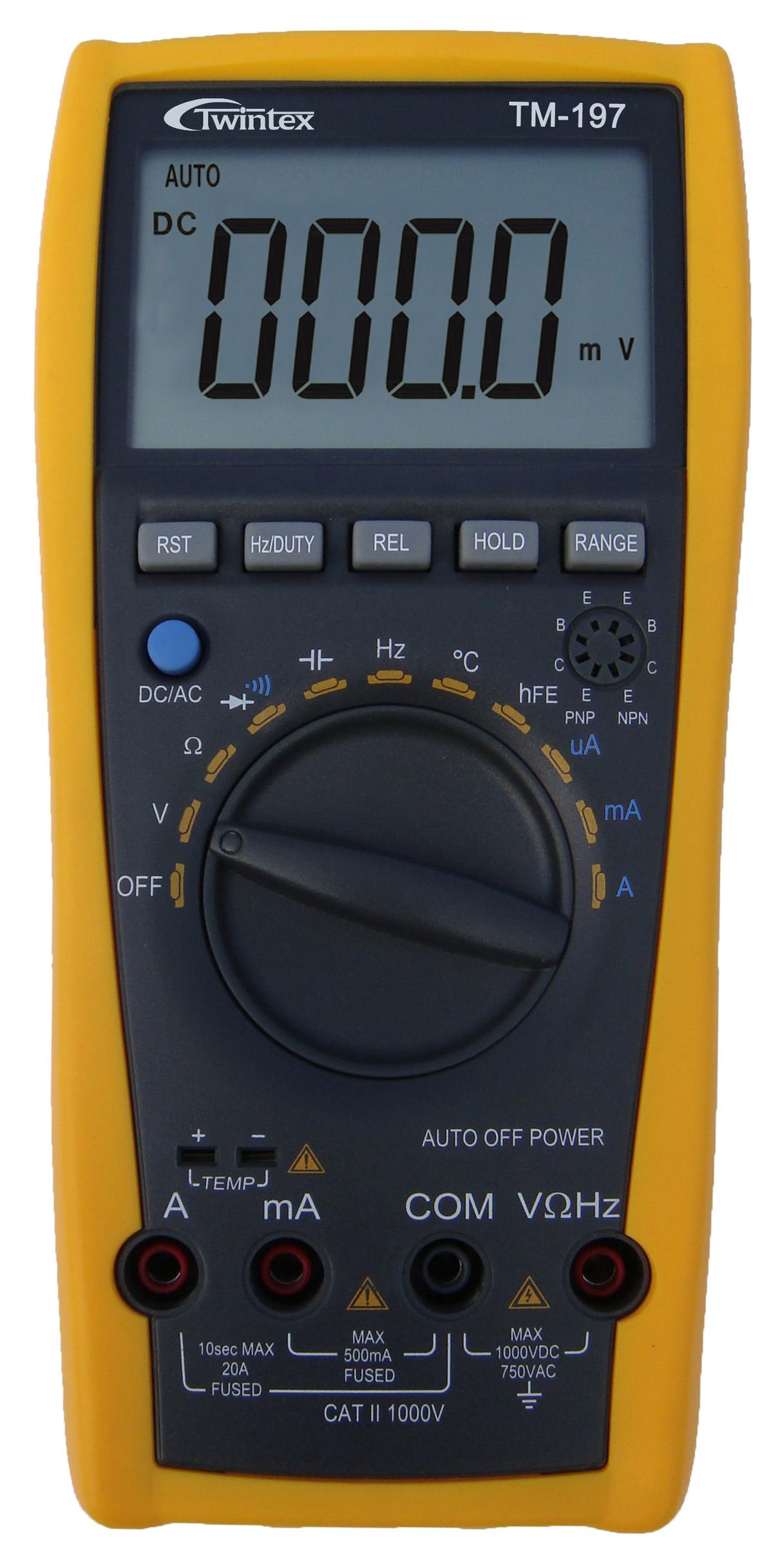 Đồng hồ vạn năng TM197 TWINTEX