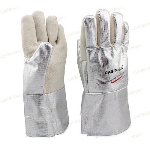 Găng tay chịu nhiệt phủ bạc NPRR15-34 Castong
