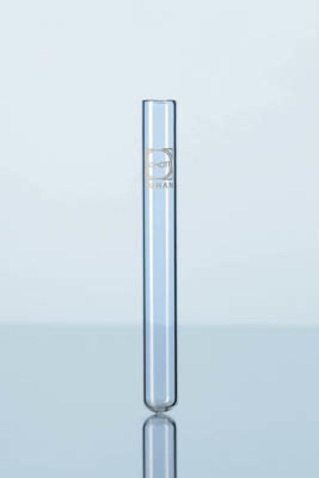 Ống nghiệm không vành 20x180mm, 40ml , thành dày có mark 261312801 DURAN
