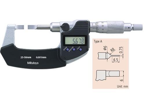 Panme đo rãnh ngoài cơ khí 422-231-30 MITUTOYO