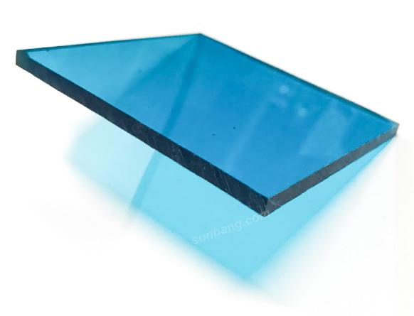 Tấm mica màu xanh dương 1220 x 2440mm dày 5mm  TGCN-34808 TAIWAN