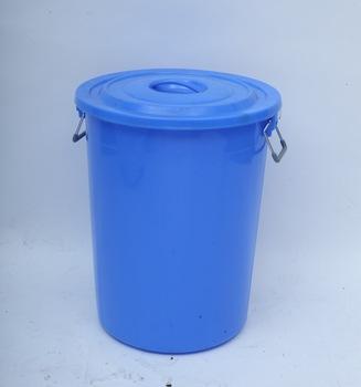 Thùng nhựa tròn có nắp 120 lít TGCN-34658 VietNamPlastics