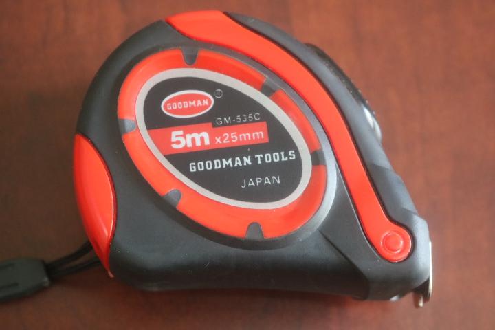 Thước cuộn 5m x 25mm GM-535C Goodman