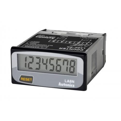 Bộ đếm LCD, Chỉ hiển thị ( loại volt ) LA8N-BF Autonics