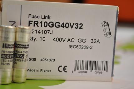 Cầu chì 10x38 FR10GG40V32 FerrazShawmut