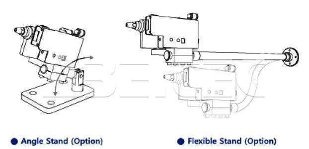 Chân đế SPN-11S Angle Stand (Option) SUNJEHITEK