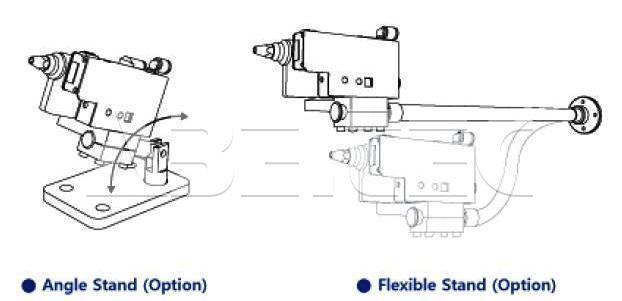 Chân đế thiết bị đo chênh lệch ion SPN-11S SUNJEHITEK