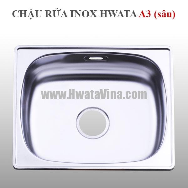Châu rửa inox Hwata  A3 (30) HWATA