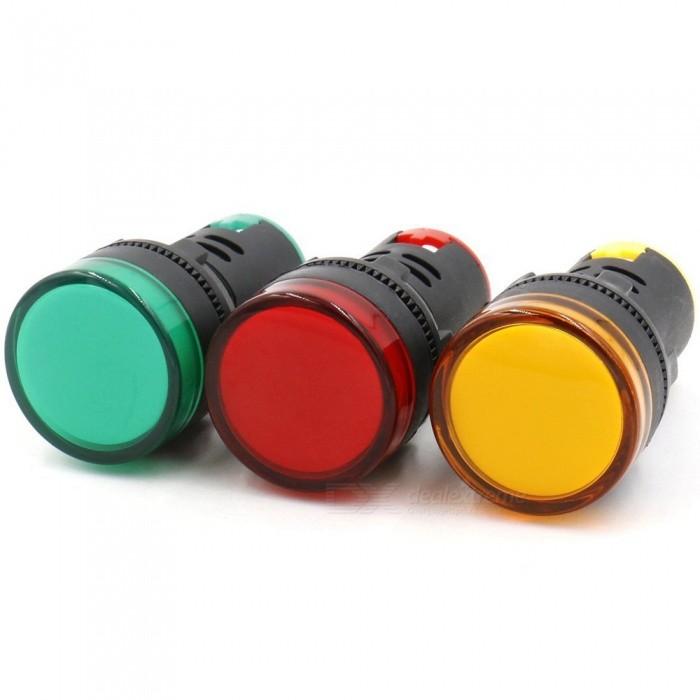 Đèn báo LED màu vàng 220AC  AD16-22D/S vàng WINSUN