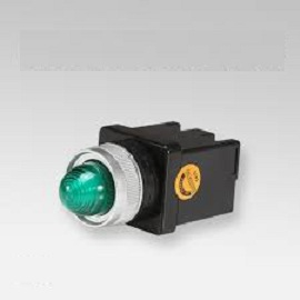 Đèn báo led phi 25 (100-240V) màu xanh CR-252-A0-G HANYOUNG