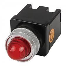 Đèn báo led phi 25 (12-24VDC) màu đỏ  CR-252-D0-R HANYOUNG