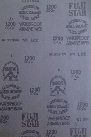 Giấy nhám nước dạng tờ  F 230x280 P320 Fujistar
