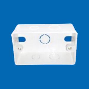 Hộp nhựa âm tường đơn 105 x 65 x 40 mm A157N MPE