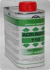 Keo dán mica , keo dán nhựa acrylic dạng sệt 110 ATA