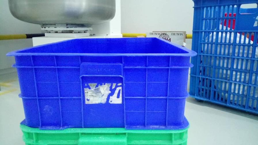 Khay nhựa xanh 610 x 420 x 190mm TGCN-34340 VietNamPlastics