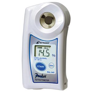 Khúc xạ kế kỹ thuật số bỏ túi Pal đo nồng độ rượu ethanol PAL 34S Atago