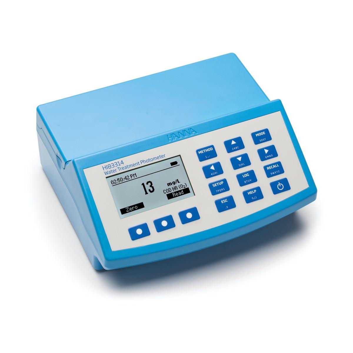 Máy đo COD và đa chỉ tiêu nước HI83314-02 Hanna