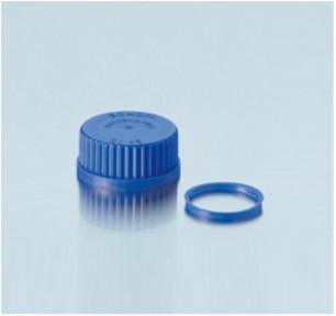 nắp vặn xanh dương cho chai trung tính GL45 292392809 DURAN