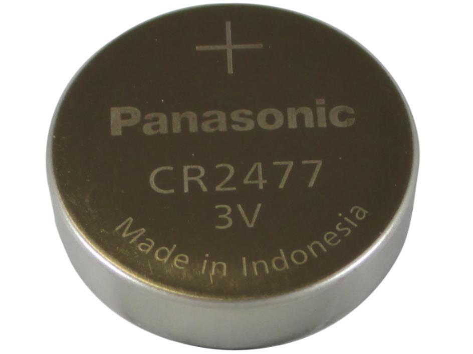 Pin điện tử thay thế lithium 3V CR2477 Panasonic